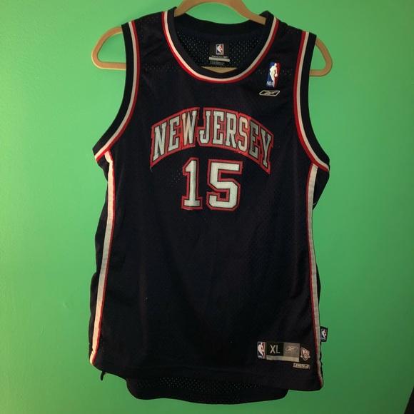 e4835c9f018 Reebok Shirts & Tops | Vintage Vince Carter Nj Nets Jersey | Poshmark
